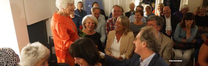 Mathilde Santing 100-jarige